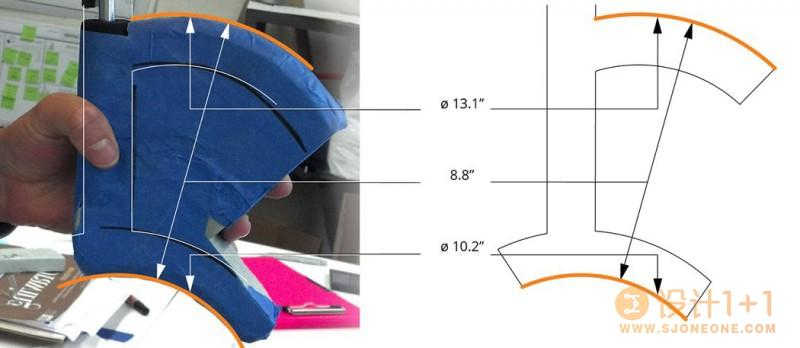 解放双手的人体工学雨伞