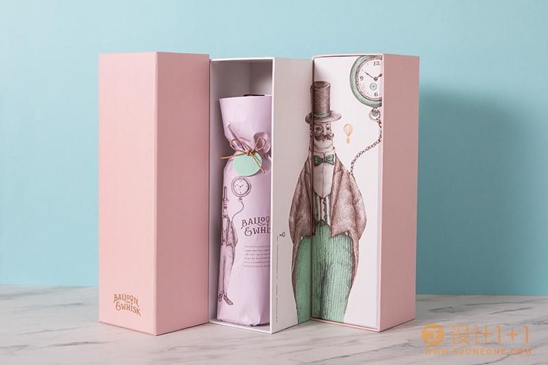 烘焙店Balloon&Whisk品牌包装设计
