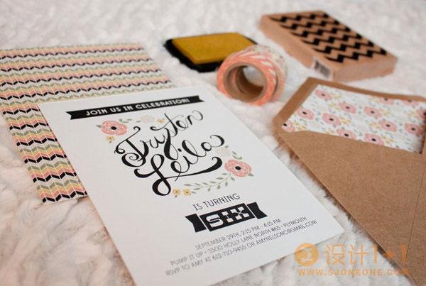 22个国外创意生日贺卡设计