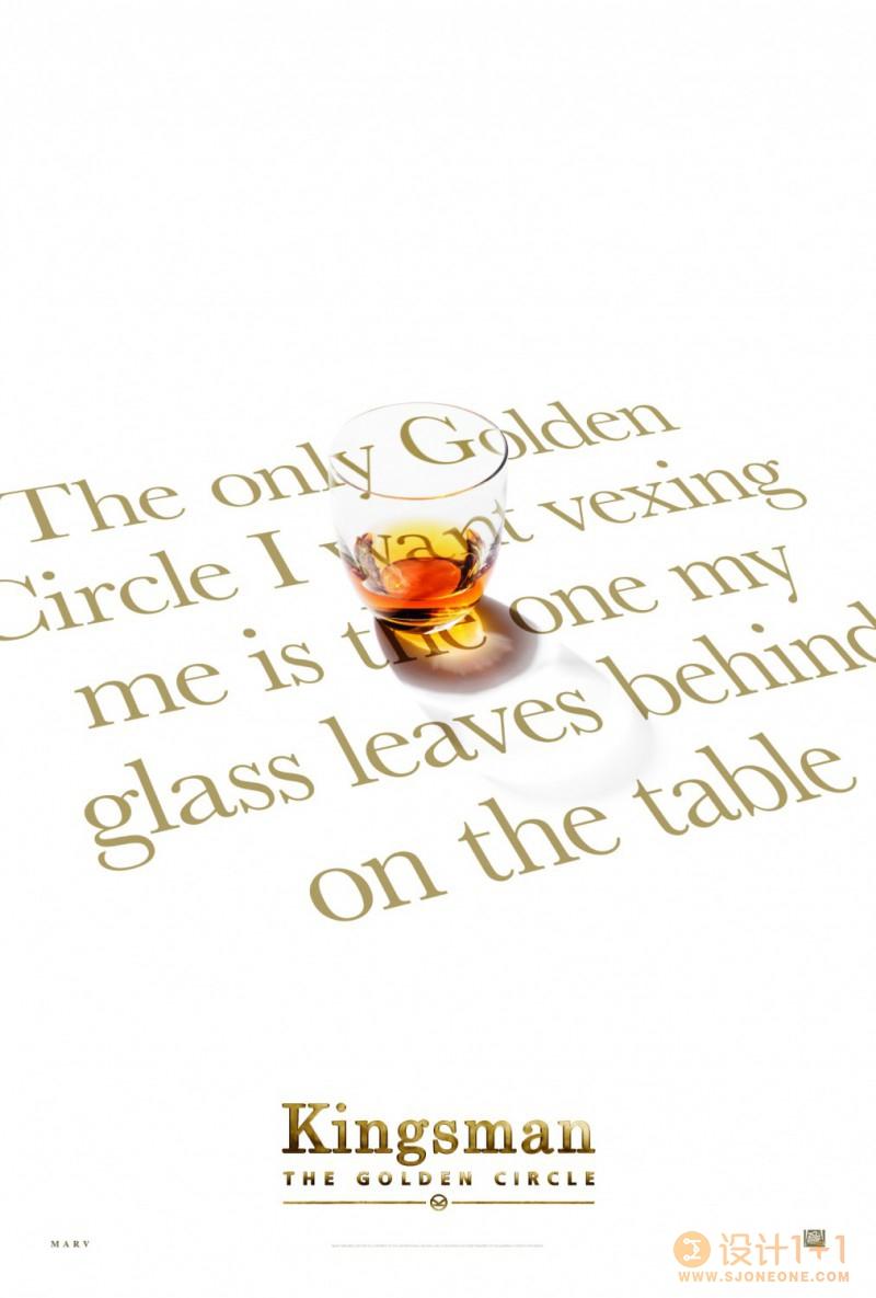 电影海报欣赏:王牌特工2:黄金圈 Kingsman: The Golden Circle