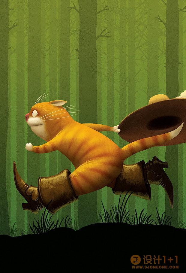 Denis Zilber儿童图书插画设计