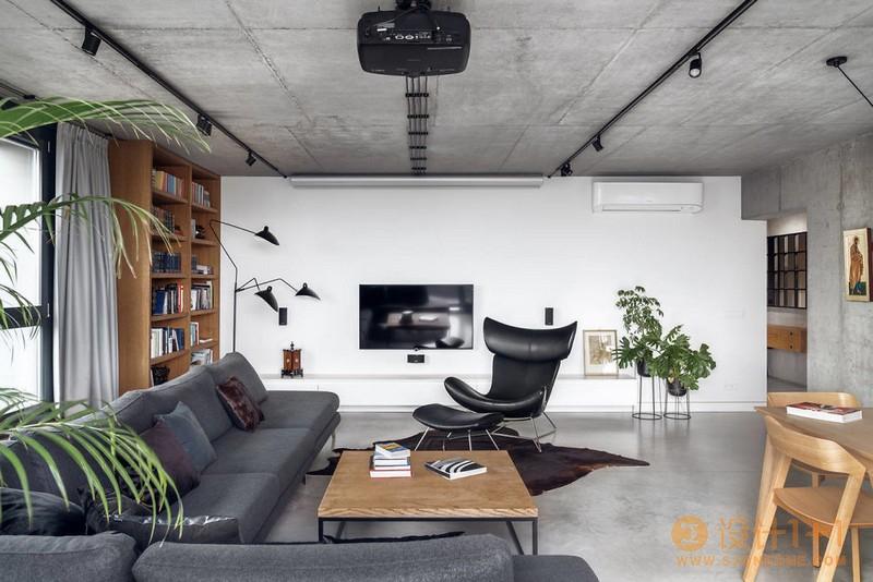 温馨和舒适的Penthouse PK43工业风格顶层公寓