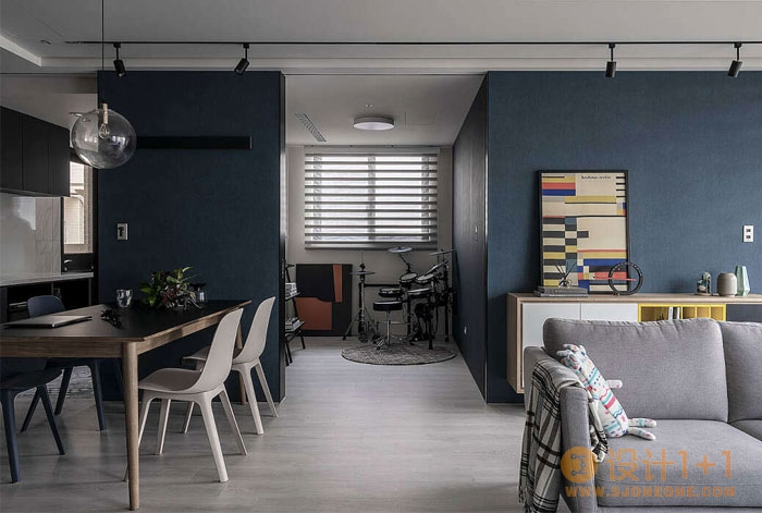 阳光充足 舒适惬意:台湾桃园现代时尚住宅设计