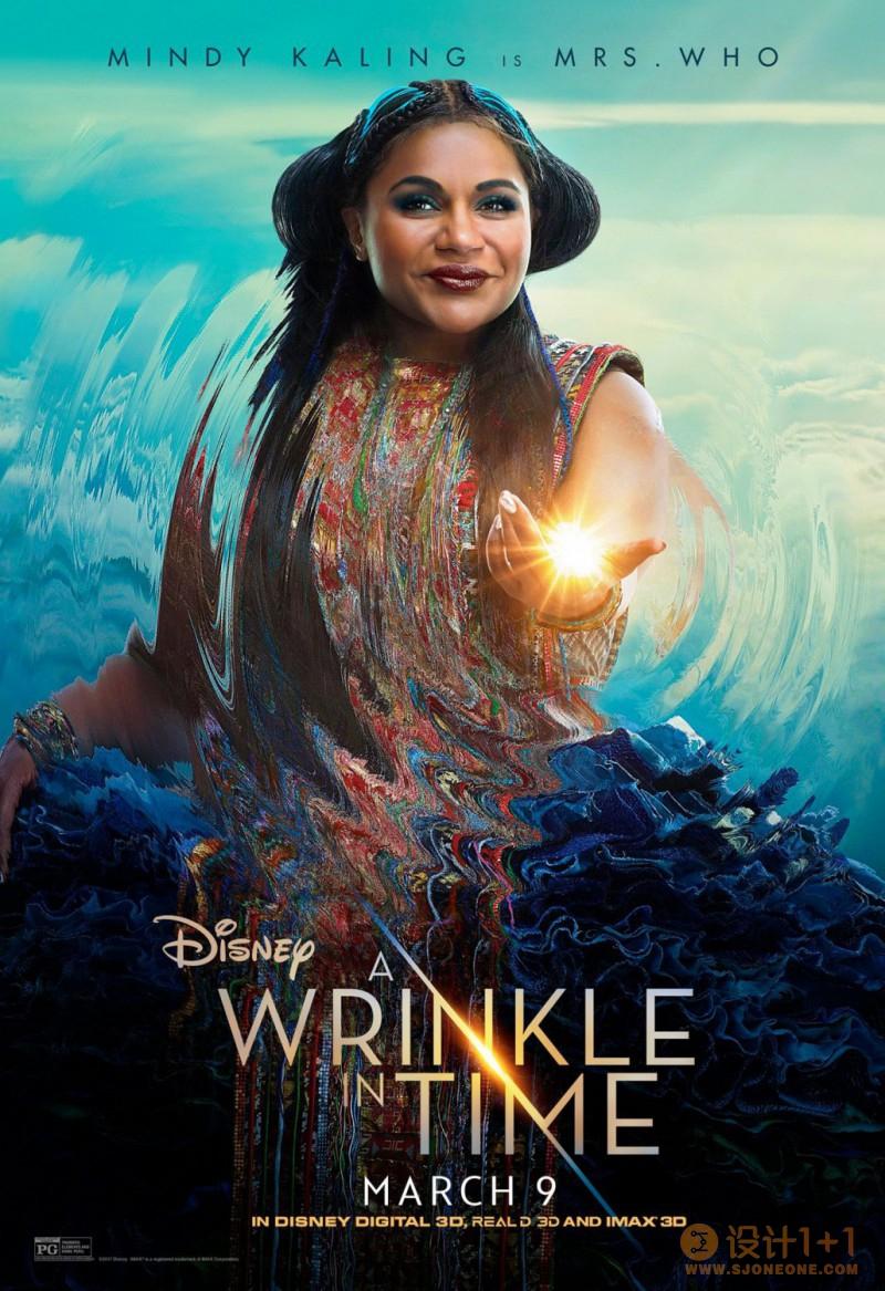 电影海报欣赏:时间的皱折 A Wrinkle in Time