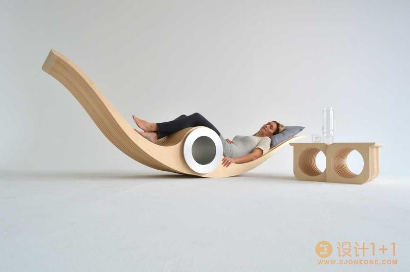 创意仿生飞鱼椅设计