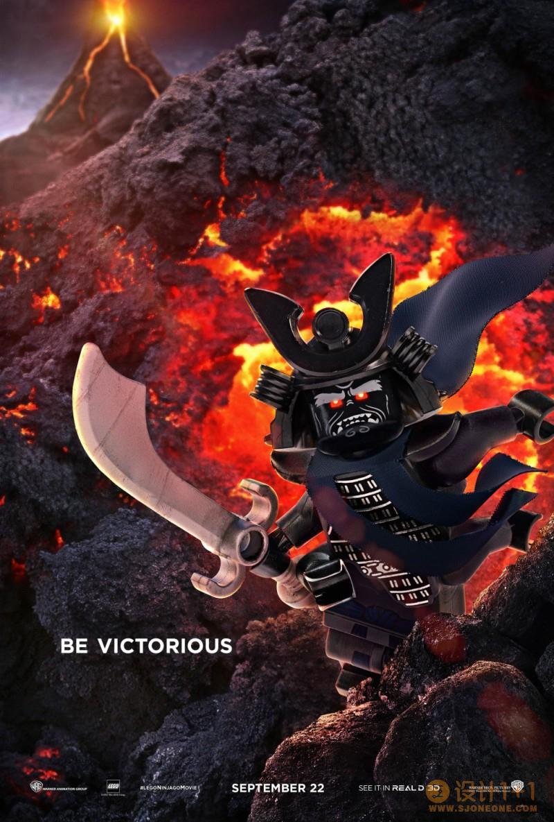 电影海报欣赏:乐高幻影忍者大电影(The LEGO NINJAGO Movie)