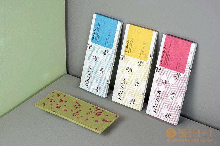 Xócala巧克力包装设计