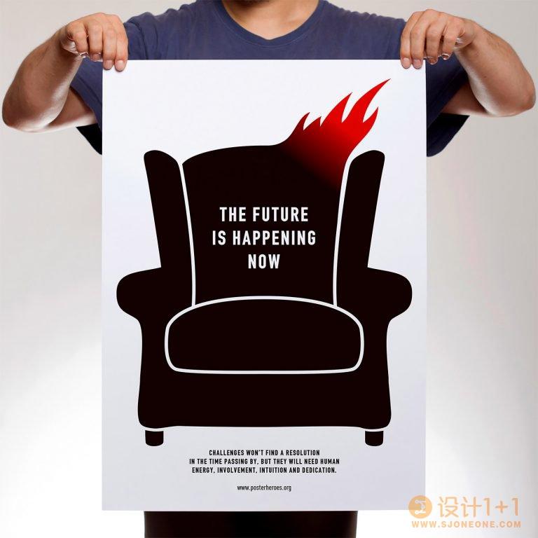 Christos Tsoleridis海报设计作品