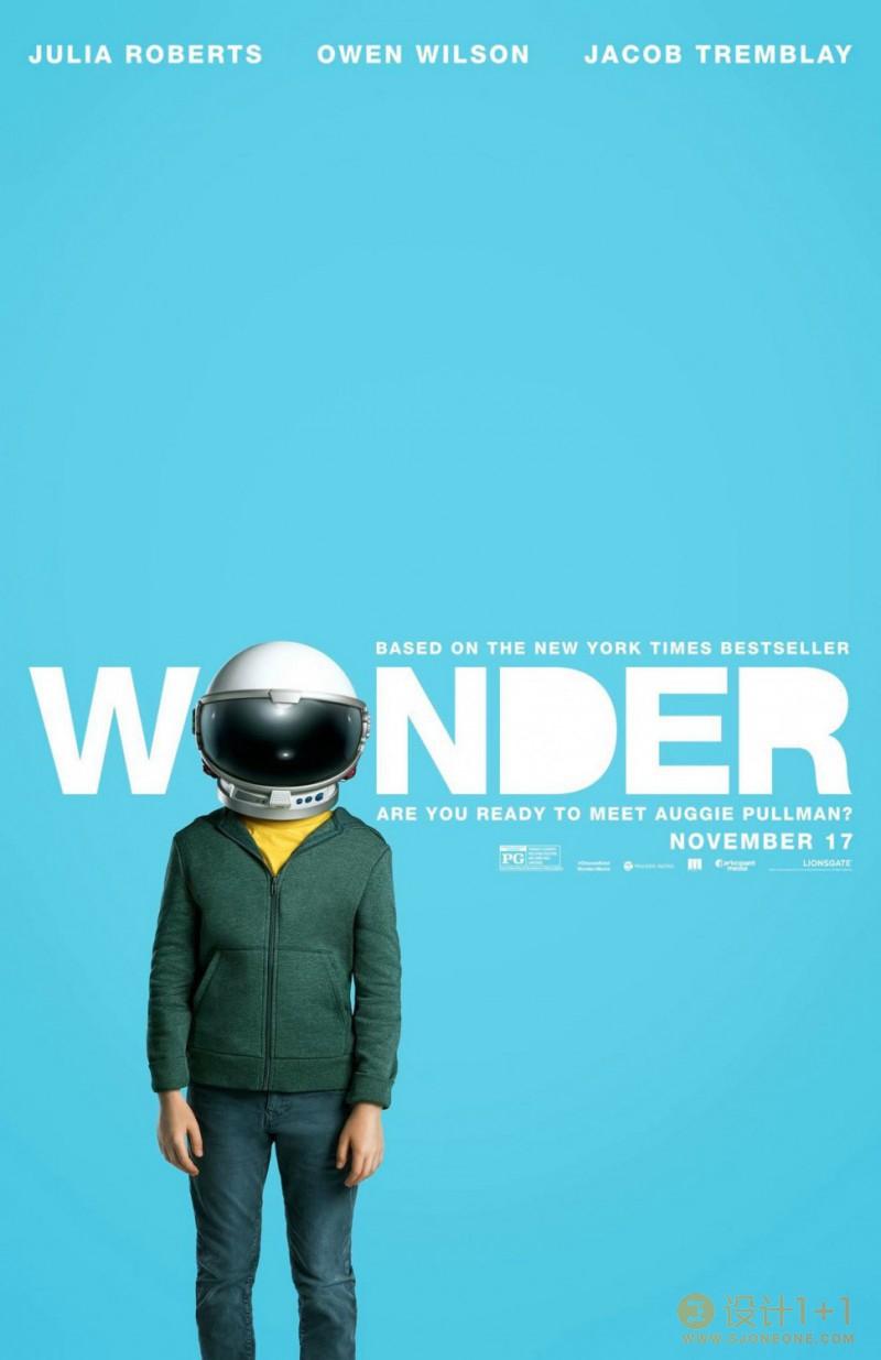 电影海报欣赏:奇迹 Wonder