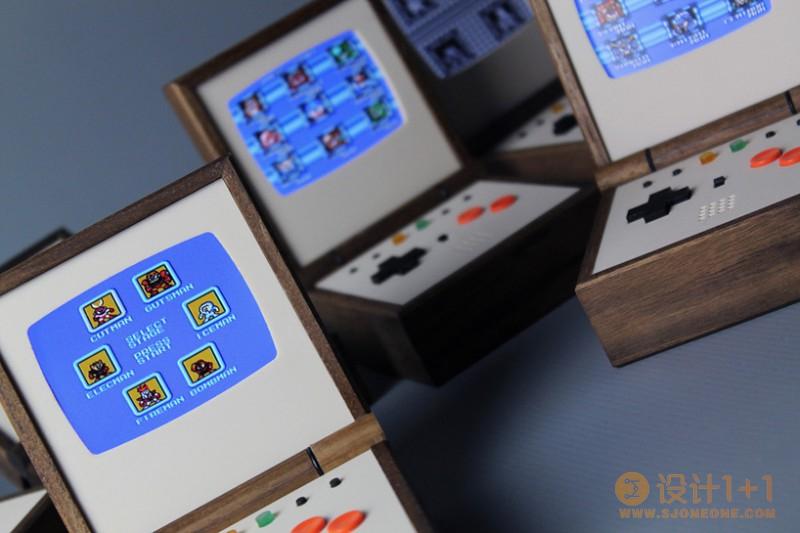 Love Hultén怀旧情愫打造的复古便携式游戏机