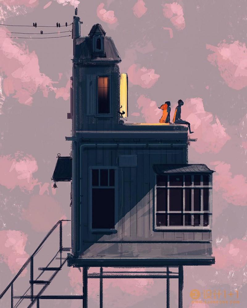 Pascal Campion 插画作品欣赏