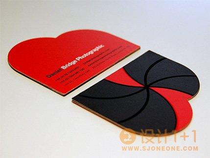 15款异形创意卡片设计欣赏
