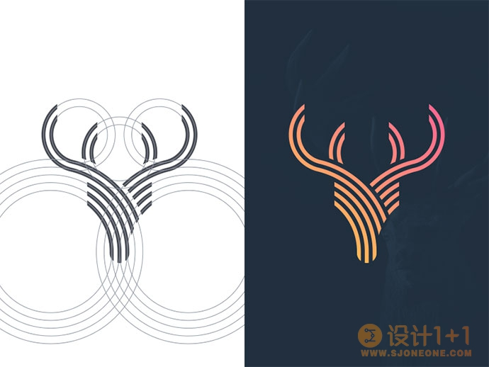 25款运用网格系统的logo设计