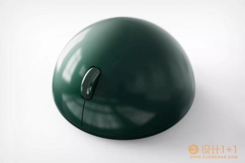 设计独特的半球形鼠标