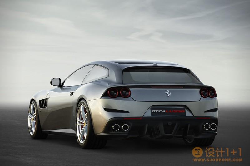 法拉利2017 Ferrari GTC4 Lusso跑车
