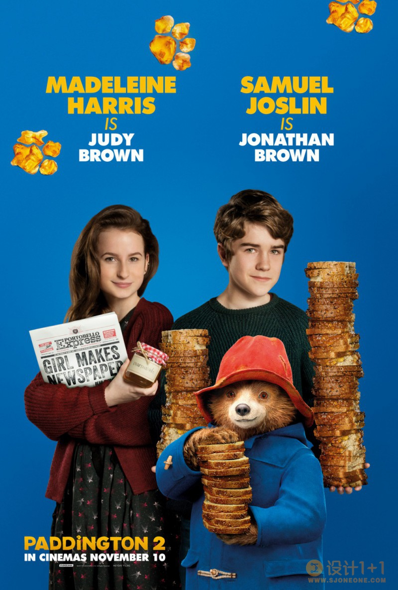 电影海报欣赏:帕丁顿熊2 Paddington 2