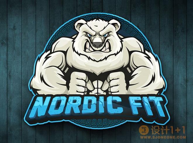 30款健身主题logo设计