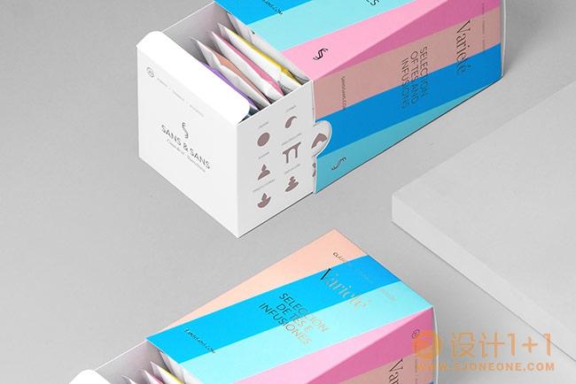 S&S VARIETÉ茶包装设计
