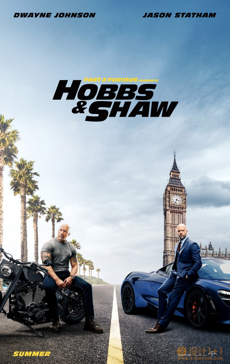 电影海报欣赏:速度与激情:特别行动(Hobbs and Shaw)
