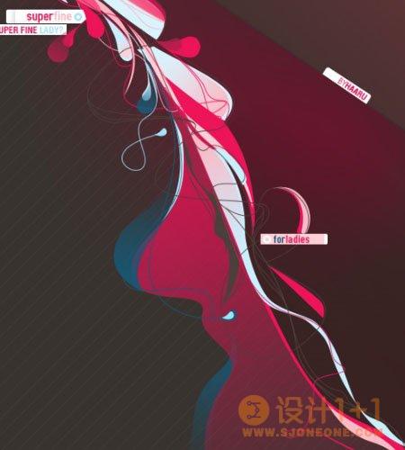 20张Vexel艺术插画