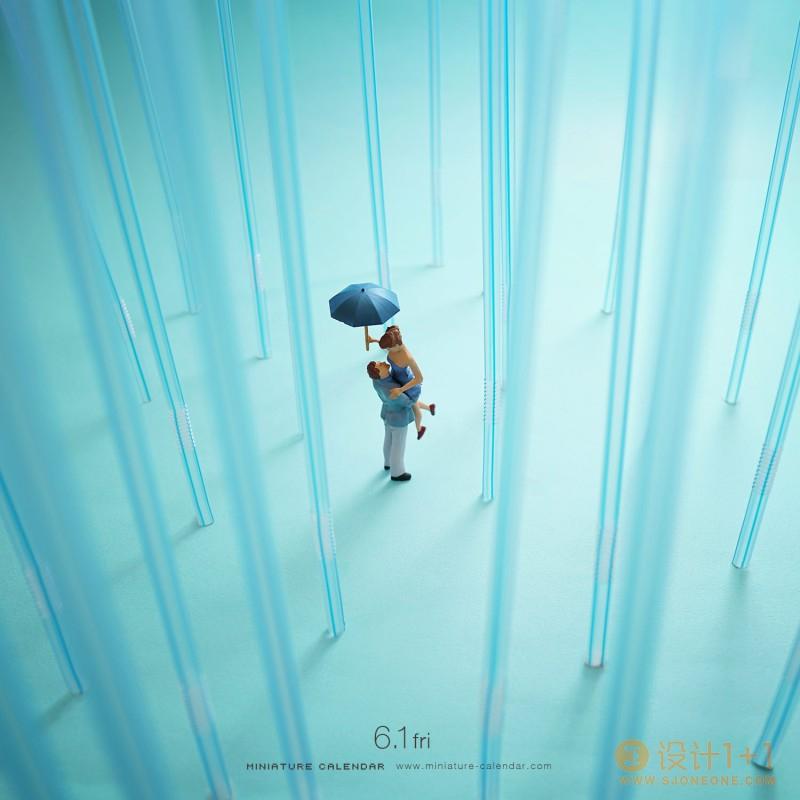 日本艺术家田中达也(Tanaka Tatsuya)的微缩摄影