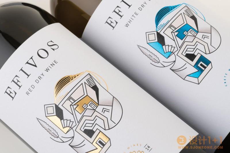 Efivos红酒包装设计