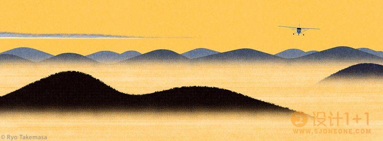 Ryo Takemasa自然清新的风景插画作品