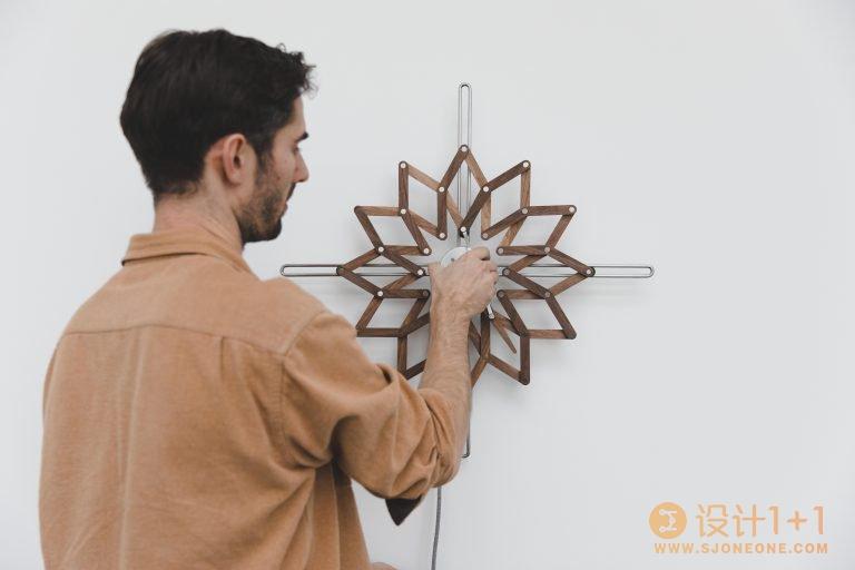 随着时间开开合合:Solstice时钟设计