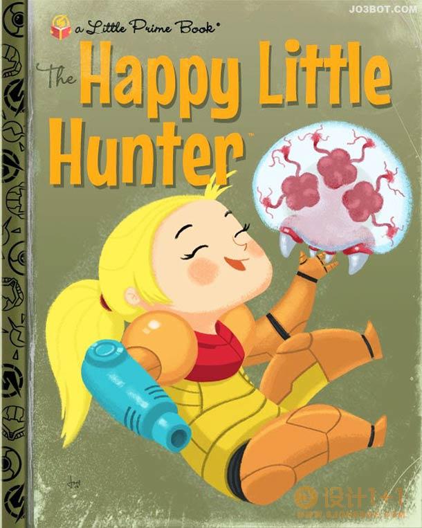Joe Spiotto儿童图书封面插画设计