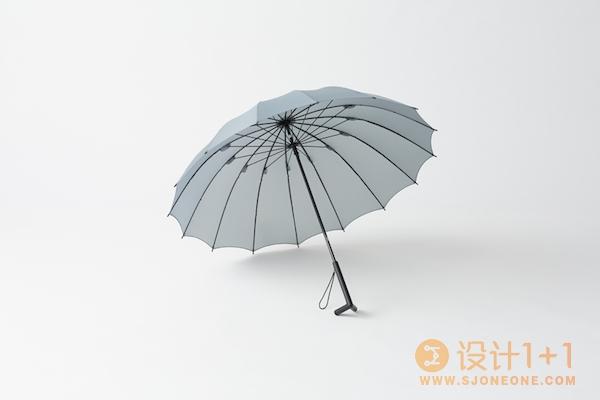 Nendo设计的会站立的雨伞stay-brella
