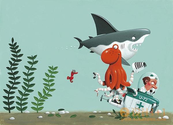 Leo Timmers儿童插画欣赏