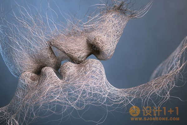 Adam Martinakis 3D艺术作品