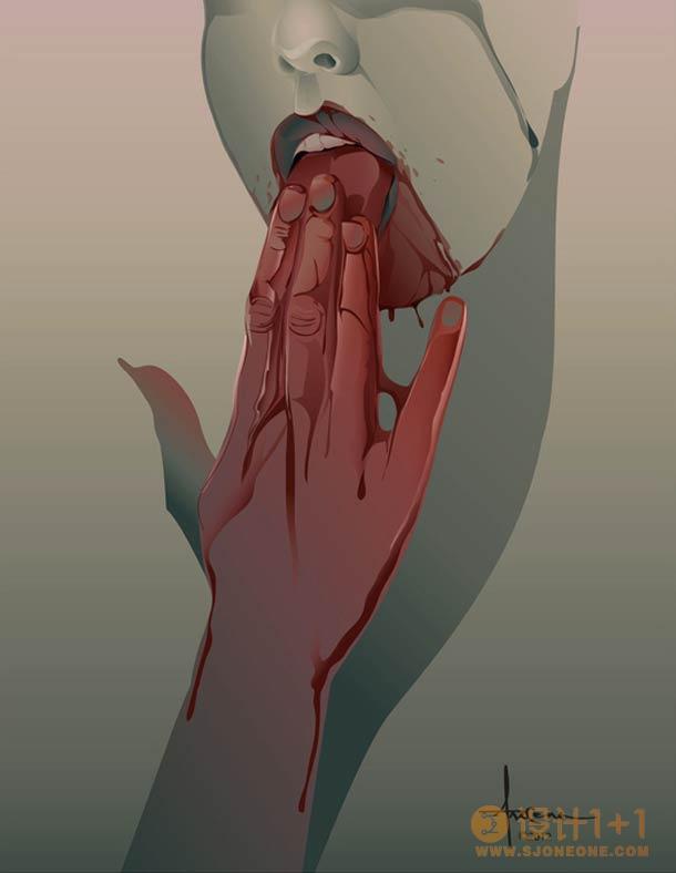 美国插画师Orlando Arocena幻想矢量插画欣赏