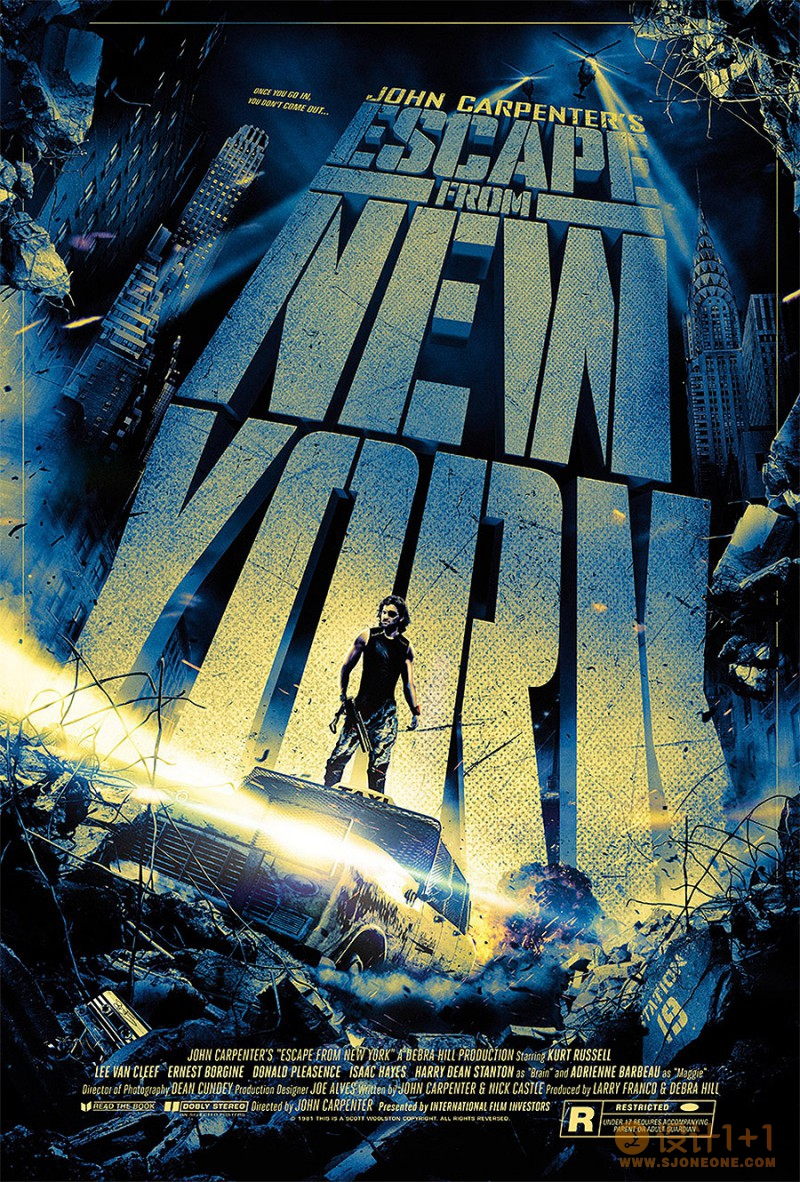 Scott Woolston创意电影海报设计