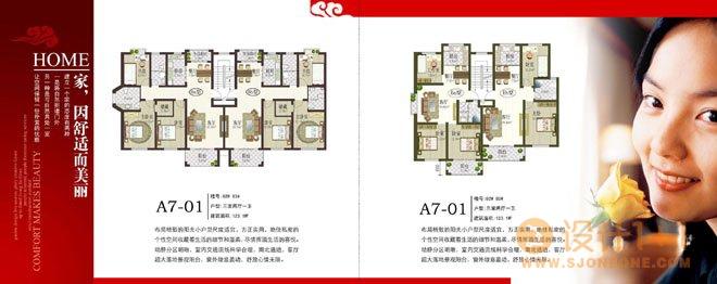 楼书设计欣赏:盛世豪庭