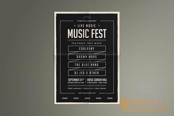 35个独立音乐海报设计