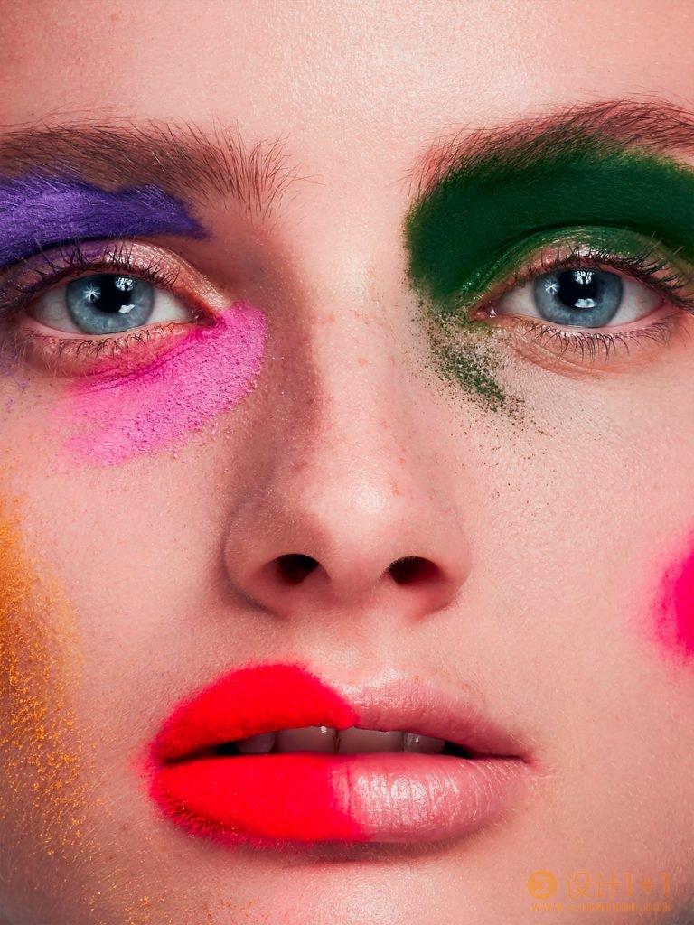 Anna Mårtensson创意美妆肖像摄影
