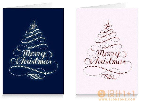 35款圣诞贺卡设计