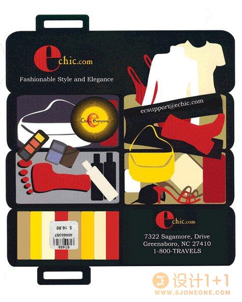 50个形状各异的创意服装吊牌设计