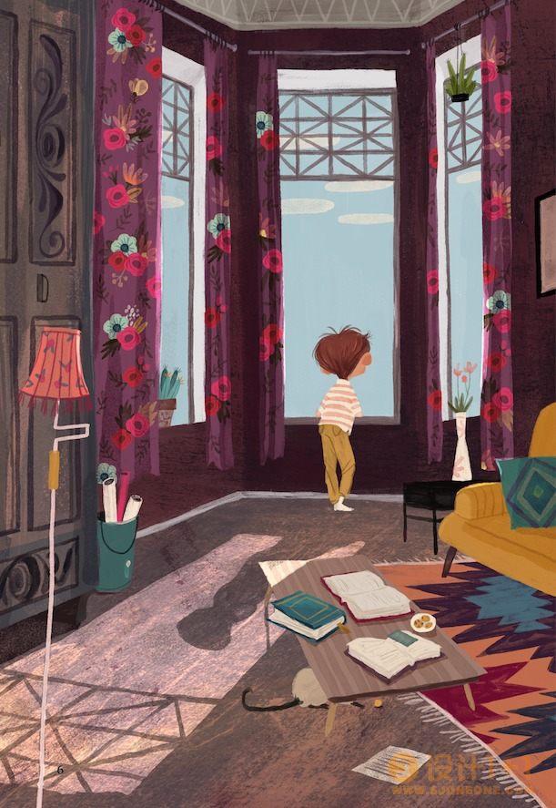 Olga Demidova儿童图书插图设计