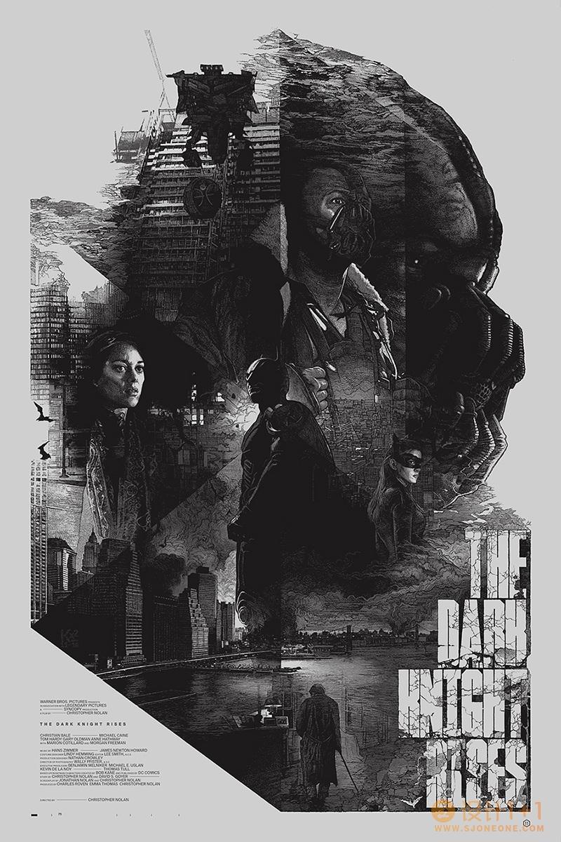 Krzysztof Domaradzki创意电影海报设计
