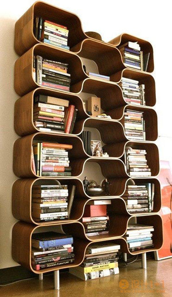 60个创意书架设计欣赏
